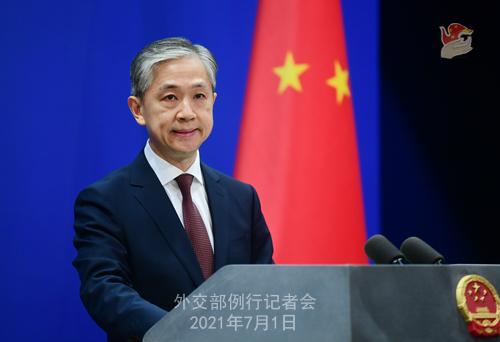 CPC firm on developing friendly ties with Pakistan: FM Spokesperson Wang Wenbin