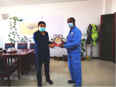 Transformation from excavator driver to tech-savvy master -- CPEC role model