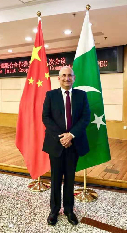 Haroon Sharif: Impressed with CPC's commitment to shared prosperity for people