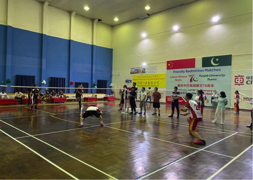 Badminton matches enhance young generation's ties between Pakistan & China