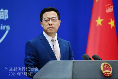 Gwadar Port, other CPEC projects welcome any third party: FM Spokesperson Zhao Lijian