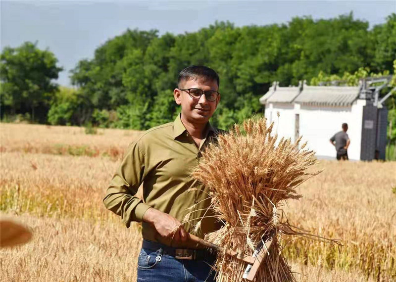Pakistani student to be bridge for Pak-China agricultural cooperation